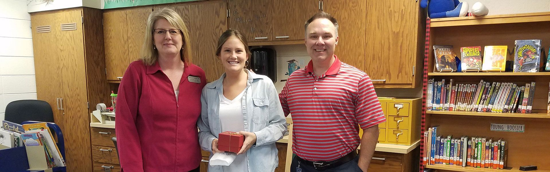 Honoring Megan Trout, Speech Therapist at Rossville Elementary School