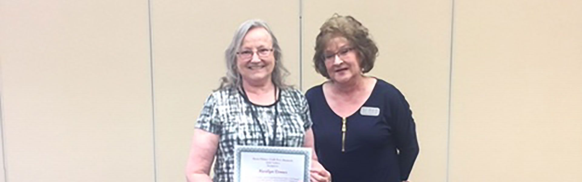Honoring Marilyn Conner, Paraprofessional at Lebanon High School